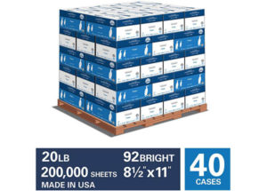Pallet of Paper Product Image